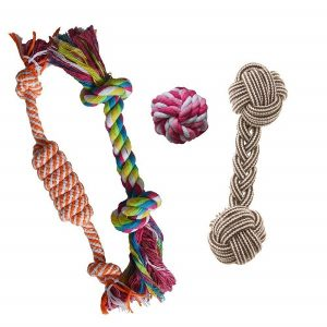 Puppy Chew Teething Rope Toys