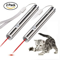 Best Cat Exercise Toys Innozon Pack of 2 Laser Pointer Chaser Toys for Cats