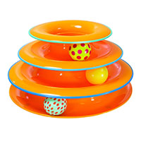 Best Cat Exercise Toys Petstages Tower of Tracks Cat Toy