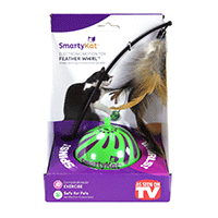 SmartyKat-Feather-Whirl-Electronic-Motion-Cat-Toy,-As-Seen-On-TV