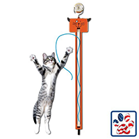 MOODY PET fling AMA String Toy Review