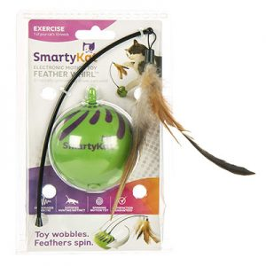 SmartyKat Feather Whirl Cat Toy